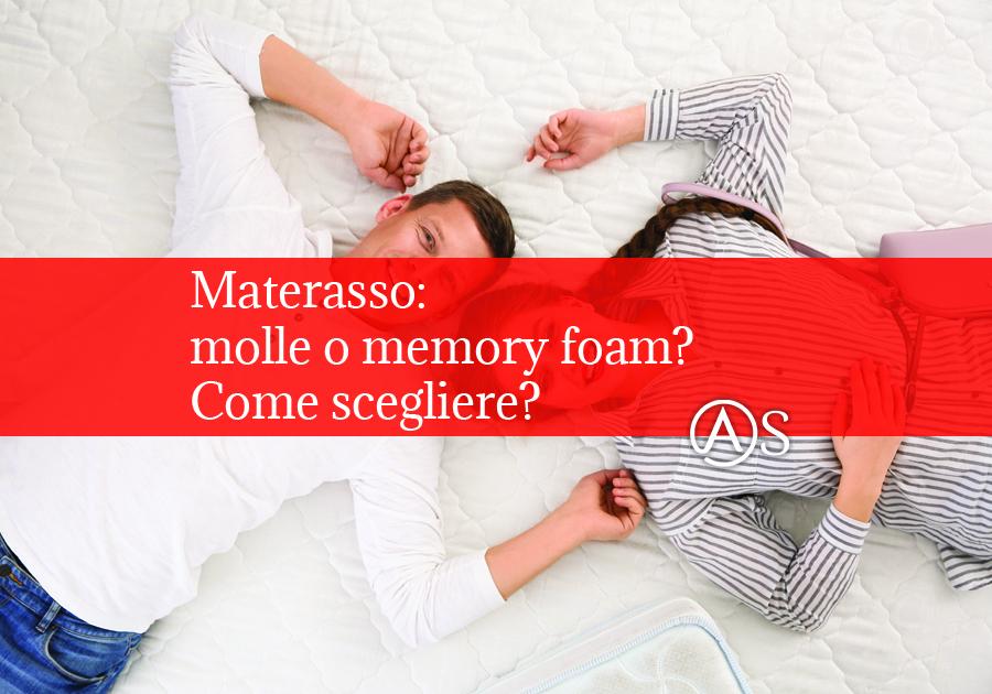 Autlet Sofà Materasso molle o memory foam? Come scegliere?